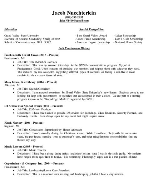 complete resume sle 28 images resume resume guide