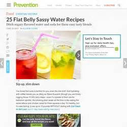Sassy Water Detox Diet Recipe by Food Pearltrees
