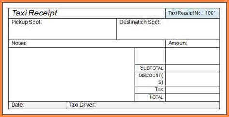 taxi receipt template india 6 indian taxi bill format in word letter bills