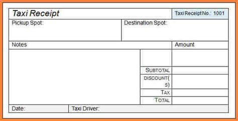 cab receipt template india taxi bill receipt ideal vistalist co