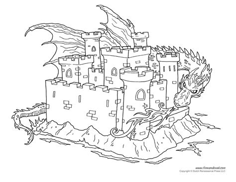 and colouring castle coloring page 3 tim de vall