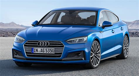 audi a5 s5 sportback 2017 audi a5 and s5 sportback revealed debut image