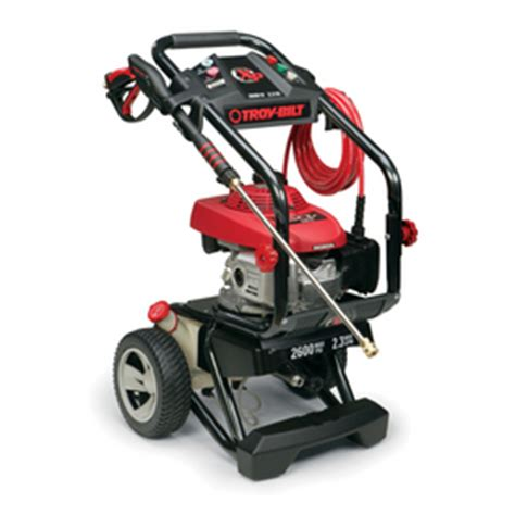 troy bilt pressure washer review parts accessories