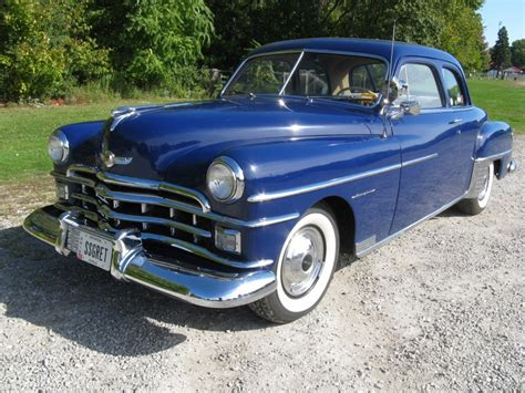 1950 chrysler royal 1950 chrysler royal club coupe for sale acm classic