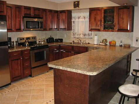 Kitchen Countertop Options Prices Contemporary Kitchen Image Of Birch Kitchen
