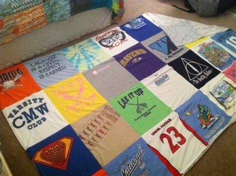 Make Quilt Out Of T Shirts by Fitzness