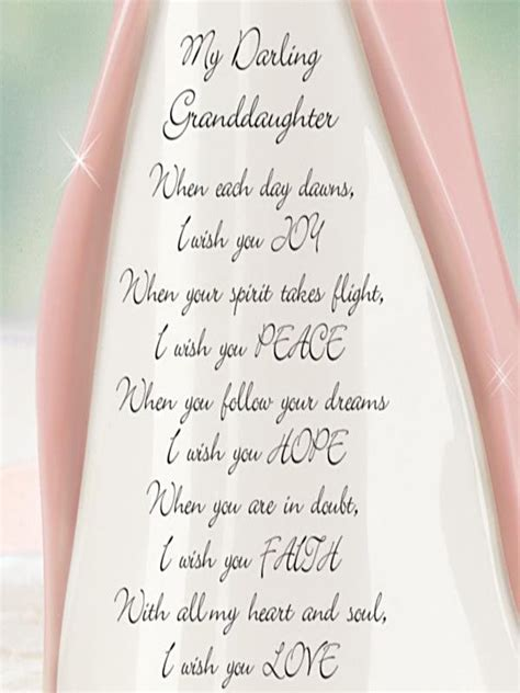 Pdf What I Wish For My Grandchild by Granddaughter I Wish You Figurine Grandchildren