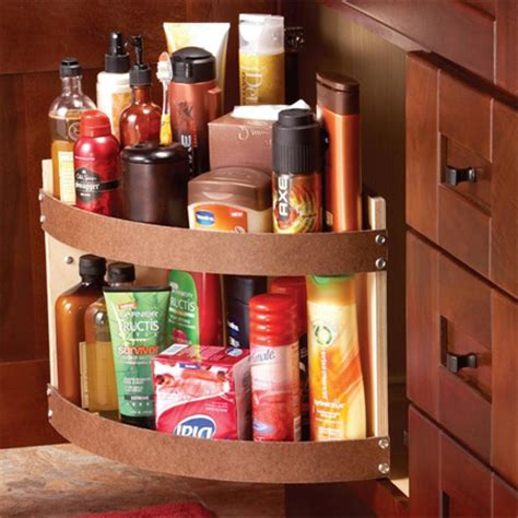 Kitchen Cupboard Rotating Shelf by Home Dzine Kitchen Rotating Storage Shelf