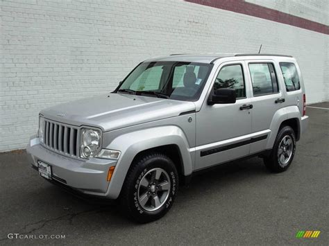 silver jeep liberty 2008 2008 bright silver metallic jeep liberty sport 4x4