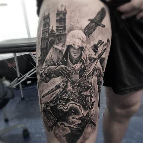 tattoo assassins video game assassins creed tattoo by derm hospital tattoo assassin