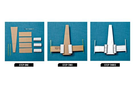 How To Make A Paper X Wing Fighter - recycled craft how to make a cardboard x wing starfighter