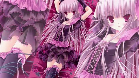 wallpaper anime pink pink anime girl hd background wallpaper 22077 baltana