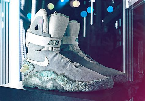 Nike Back To The Future original nike mags from back to the future ii to be auctioned this fall sneakernews