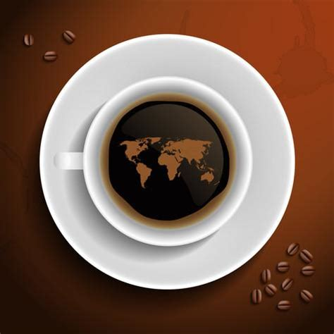 Coffee World world coffee production map images