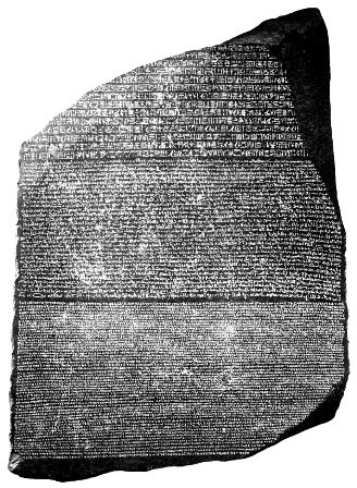 rosetta stone old norse the rosetta stone and ancient egyptian