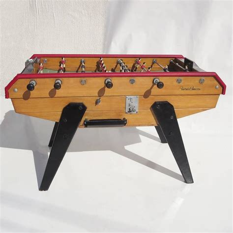 mid century foosball table by rene at 1stdibs