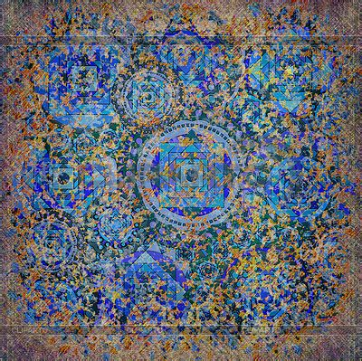 quot the blue pyramid illusion quot geometric expressionism blue geometric pattern 187 patterns gallery