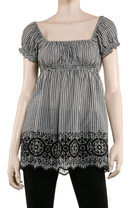Mischa Gingham by Gingham Top