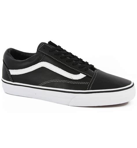 Vans Oldcooll Sk8 vans school skate shoes aged leather black ebay