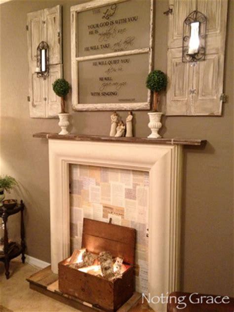 faux fireplace decor fireplace decor designs for a faux fireplace