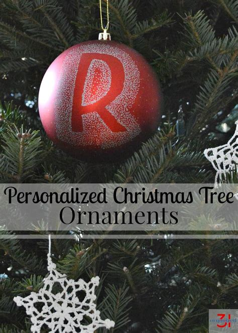 personalized christmas tree ornaments organized 31