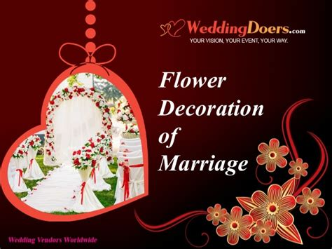 Flower Decoration In Marriage by Flower Decoration Of Marriage