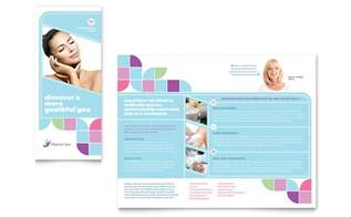 medical spa brochure template word amp publisher