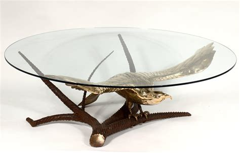 eagle coffee table by a chervet circa 1970 for sale at