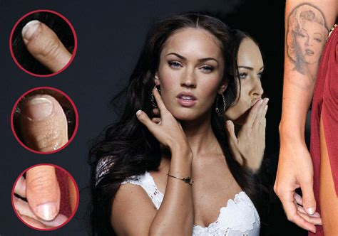 Megan fox club thumbs megan fox s clubbed thumb minor cosmetic imperfection