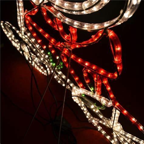 santa riding bicycle christmas lights online shopping