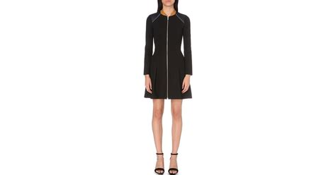Dress Raline maje raline crepe dress in black lyst