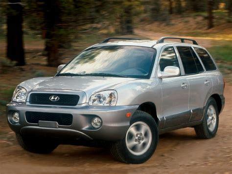 how petrol cars work 2003 hyundai santa fe windshield wipe control 2003 hyundai santa fe reviews specs and prices cars com