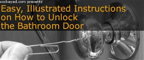 how to unlock a bedroom door easy illustrated instructions on how to unlock the