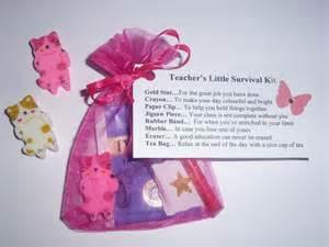 teacher survival kit gift nursery teaching assistant