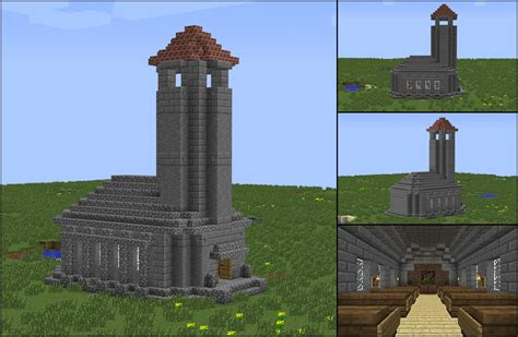 minecraft chapel   Minecraft Seeds For PC, Xbox, PE, Ps3, Ps4!