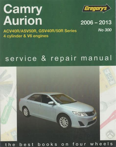what is the best auto repair manual 2006 gmc canyon electronic toll collection toyota camry aurion 2006 2013 gregorys service repair manual sagin workshop car manuals repair