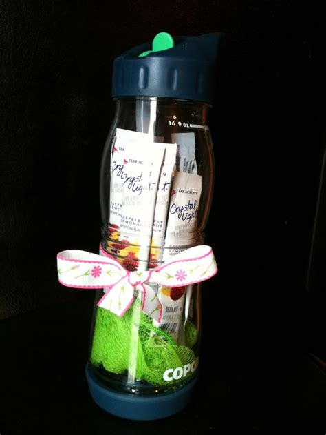 Baby Shower Door Prizes by Baby Shower Prize Waterbottle Filled With A Loofa