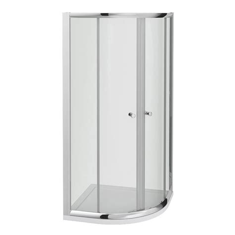 bath size shower enclosures cove quadrant shower enclosure with tray waste 2 size