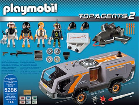 Playmobil Agenten Auto by Playmobil 174 Spy Team Commander Truck 5286 Test