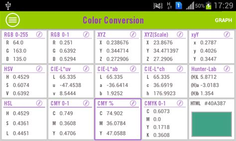 rgb color calculator free rgb to munsell converter software axebinder