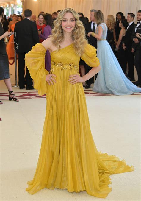 amanda seyfried yellow dress amanda seyfried in prada every must see look from the