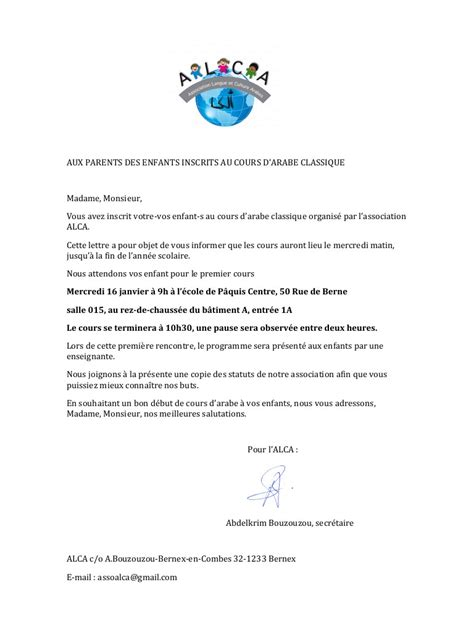 Exemple Lettre De Salutation Amicale Lettre D 233 But Cours Lettre D 233 But Cours Pdf Fichier Pdf