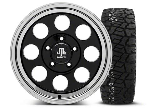 Bfgoodrich Sweepstakes - mammoth wrangler 8 black 16x8 wheel and bf goodrich all terrain ta ko2 tire 315