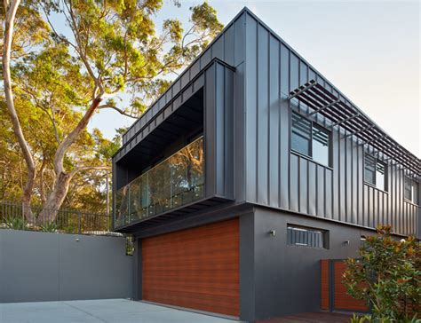 Standing Seam Awnings Full Metal Jacket Contemporary Garage And Shed