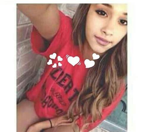Arianna Brown grande brown hair goals model status image
