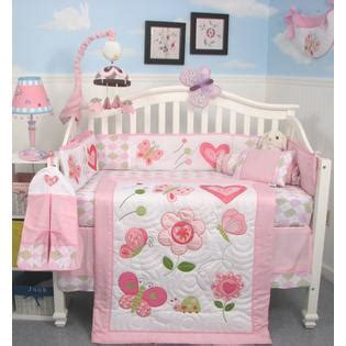 Sears Crib Bedding Soho Designs Butterfly Kisses Baby Crib Nursery Bedding Set 14 Pcs Included Bag With