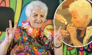 Pam Caigns Against Kfc Postage St by Eastenders Legend Pam St Clement Smokes A Bong On Tv