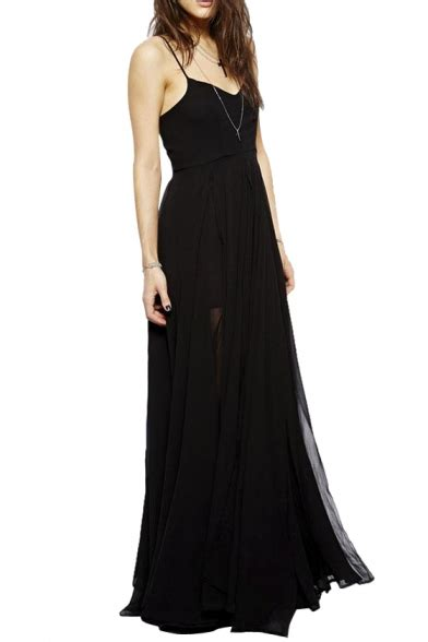 floor length black dress black floor length dress dress nour