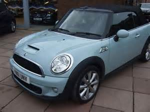 Mini Cooper Blue Convertible Used Powder Blue Mini Convertible For Sale Cheshire