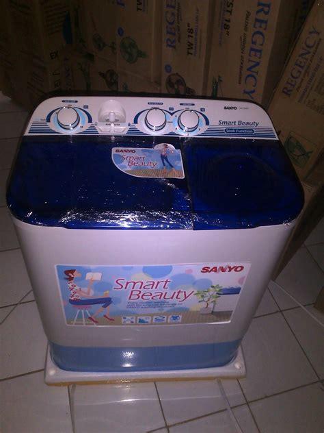 Mesin Cuci Sanyo Sw 640xt jual sanyo mesin cuci 2 tabung seri sw 755 xt karyajayaelectronikhendy